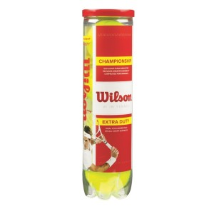 Wilson Championship Tennis Balls - Can of 4