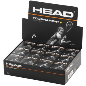 Head Tournament Squash Ball - Box Of 12
