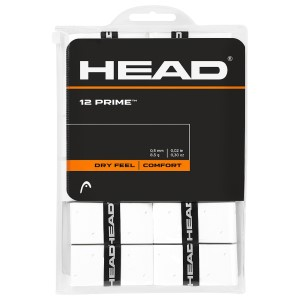 Head Tennis Prime Overgrip - 12 Pack