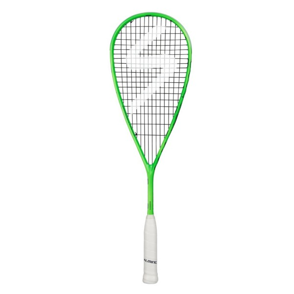 Salming Cannone 145 Squash Racquet - Green/Navy
