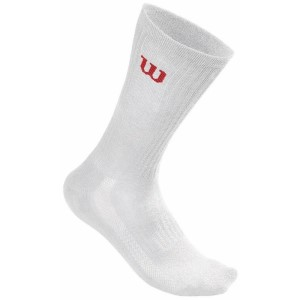 Wilson Mens Tennis Crew Socks - 3 Pack