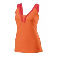 Wilson Solana V-Neck Womens Tennis Tank Top