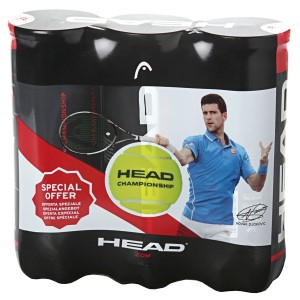 Head Championship Tennis Ball Tri Pack - 9 Balls