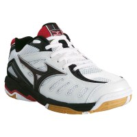 Mizuno Wave Rally 4 Mens Indoor Court Shoes - Red/White/Black