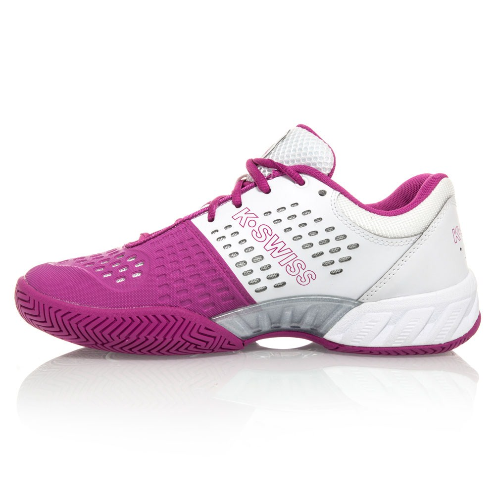 kswiss bigshot light womens tennis shoes whitepink