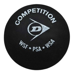 Dunlop Competition Single Dot Squash Ball