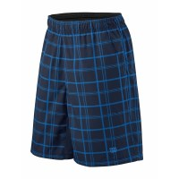 Wilson Rush Plaid 8 Inch Kids Boys Tennis Shorts