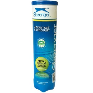 Slazenger Advantage Hardcourt Tennis Balls - Can of 4