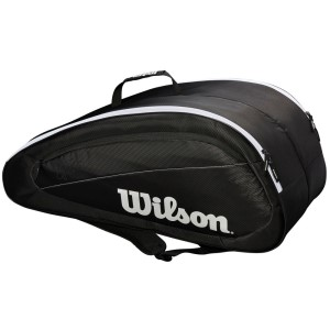 Wilson Federer Team 12 Pack Tennis Racquet Bag