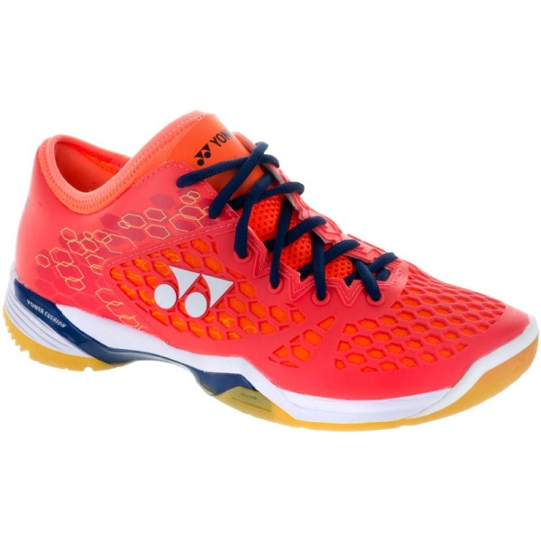 Yonex Power Cushion 03 Z Mens Indoor Court Shoes - Coral Red