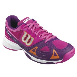 Wilson Rush Pro Kids Girls Tennis Shoes