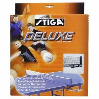 Stiga Deluxe Table Tennis Net & Post Set