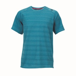 Wilson Barre Kids Boys Tennis Crew Shirt