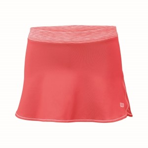 Wilson Striated Kids Girls Tennis Skirt