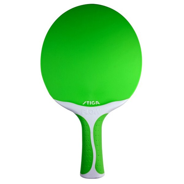 Stiga Flow Table Tennis Bat - Green
