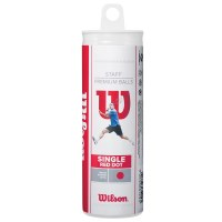 Wilson Red Dot Squash Balls - 3 Pack