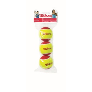 Wilson Starter Game Tennis Balls - 3 Ball Pack