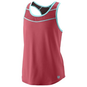 Wilson Core Kids Girls Tennis Tank Top II