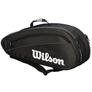 Wilson Federer Team 6 Pack Tennis Racquet Bag