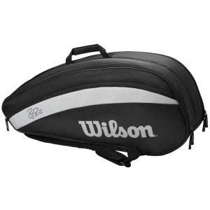 Wilson Federer Team 6 Pack Tennis Racquet Bag 2020