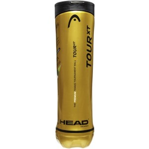 Head Tour XT Tennis Balls - Can of 4